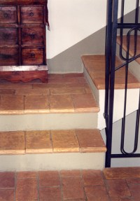 Stair Tread Tiles 6x12x1  Pak Clay Tile Pakistan