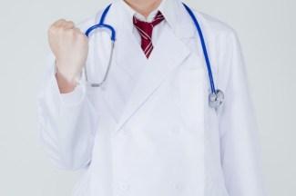 頑張って生きましょう!と応援する医師