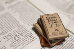 英字新聞とチョコレート