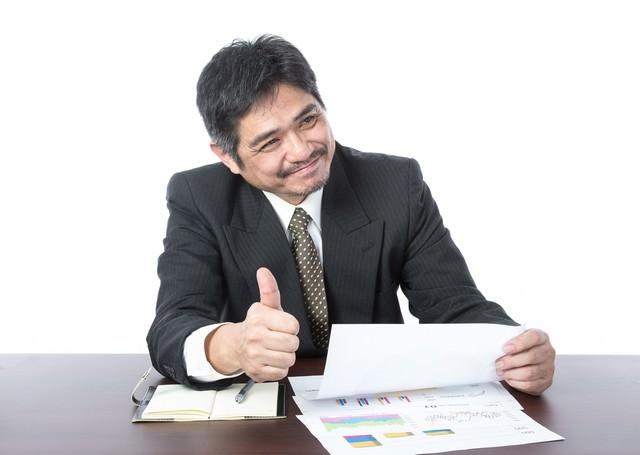 「資料いいね!社長にシェアさせていただきます」とベタ褒めするクライアント