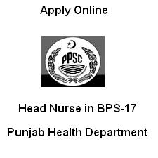 PPSC Announced 500 Head Nurses Jobs in Punjab Health