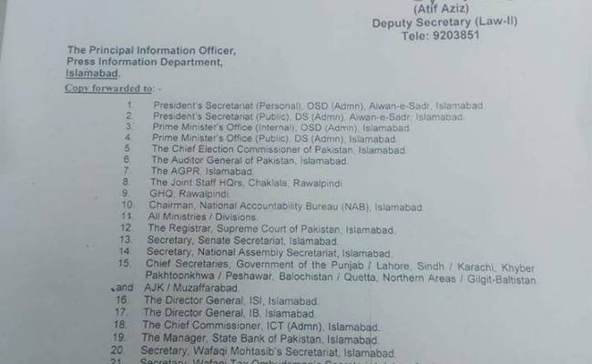 Eid Ul Fitr Holidays Notification 2017 Interior Ministry