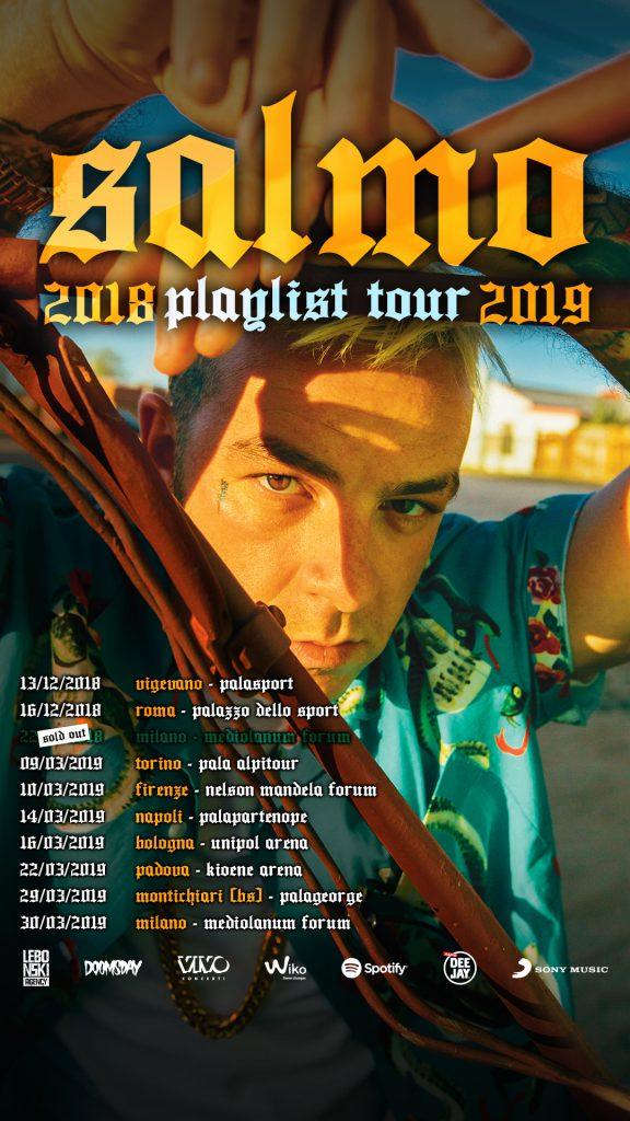 SALMO PLAYLIST TOUR 2019  Pala Alpitour