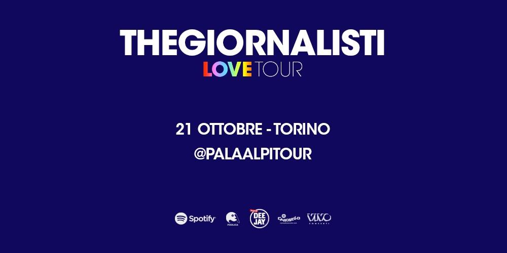 THEGIORNALISTI 2018  Pala Alpitour