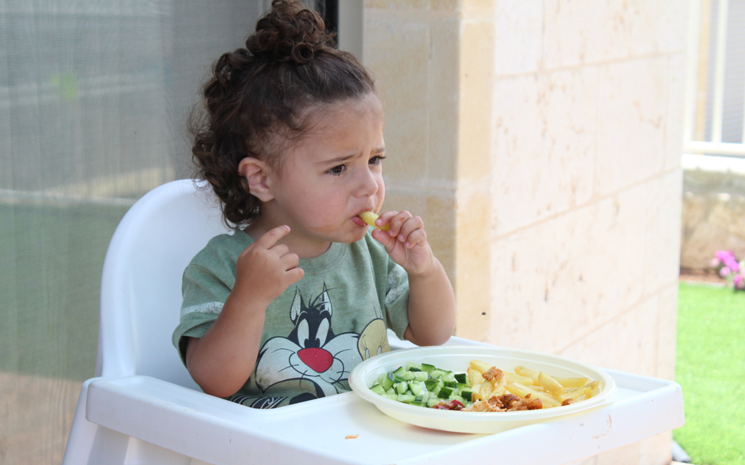 Alimentación complementaria en niños