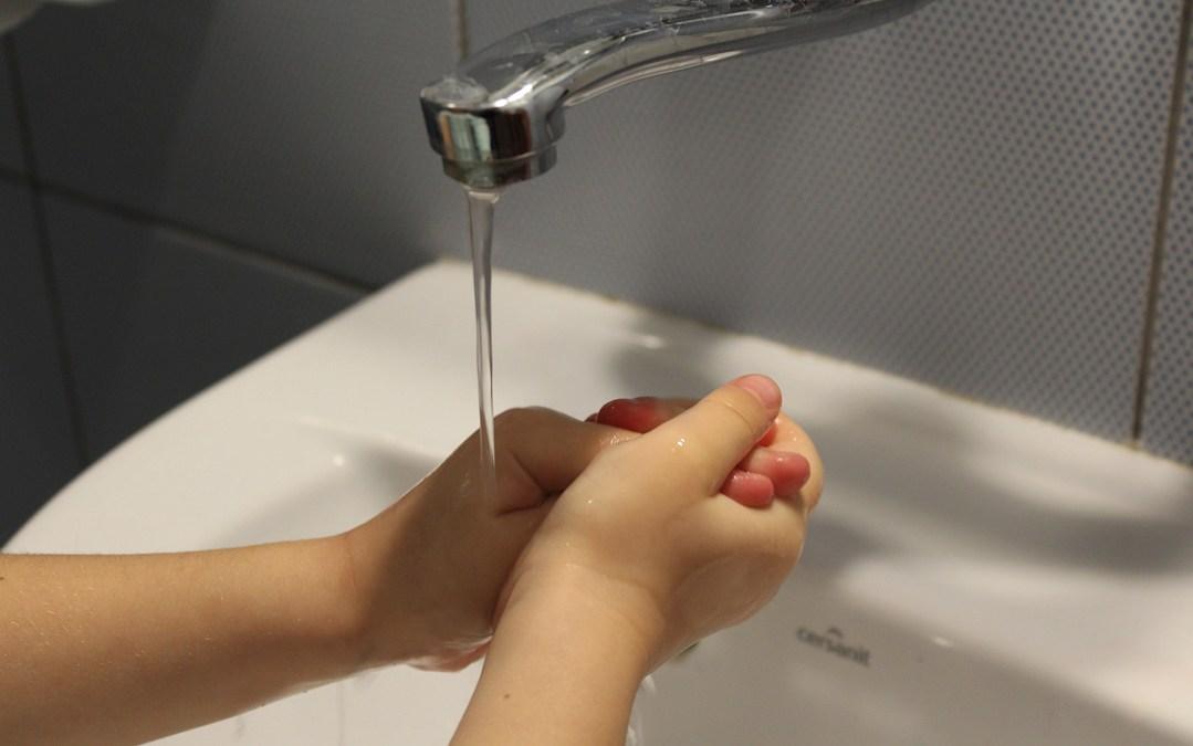 La importancia de enseñar al alumnado el lavado de manos