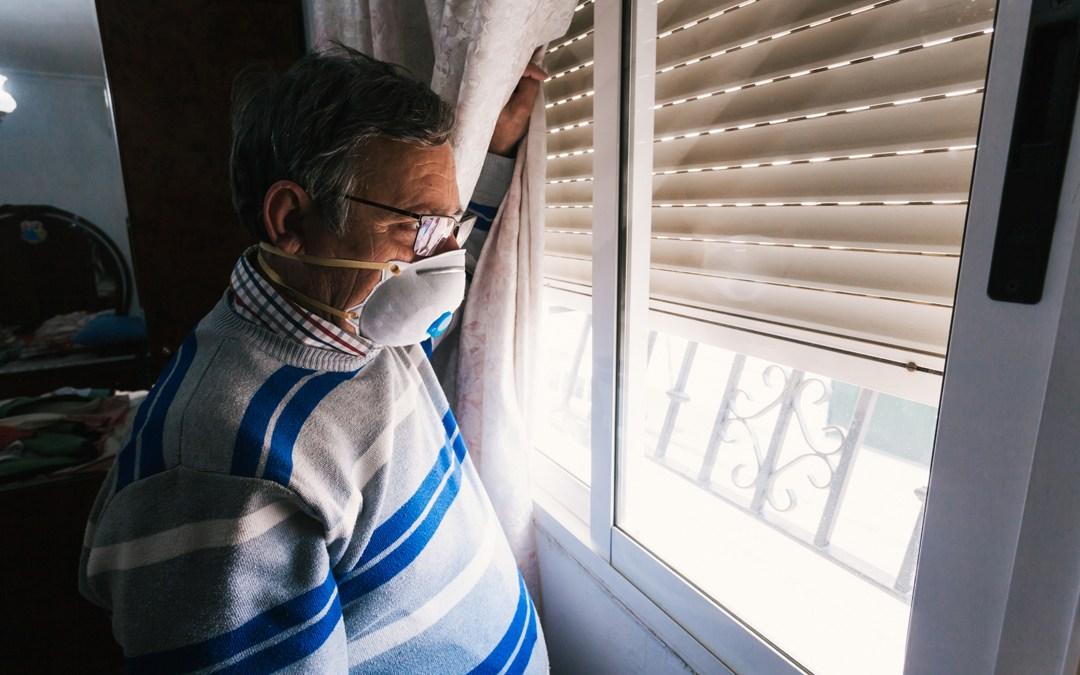 Cuidados de pacientes con COVID-19 en el domicilio