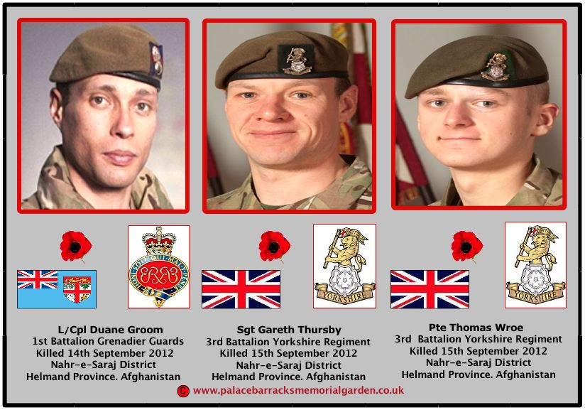 AFGHAN HEROES WE WILL REMEMBER THEM