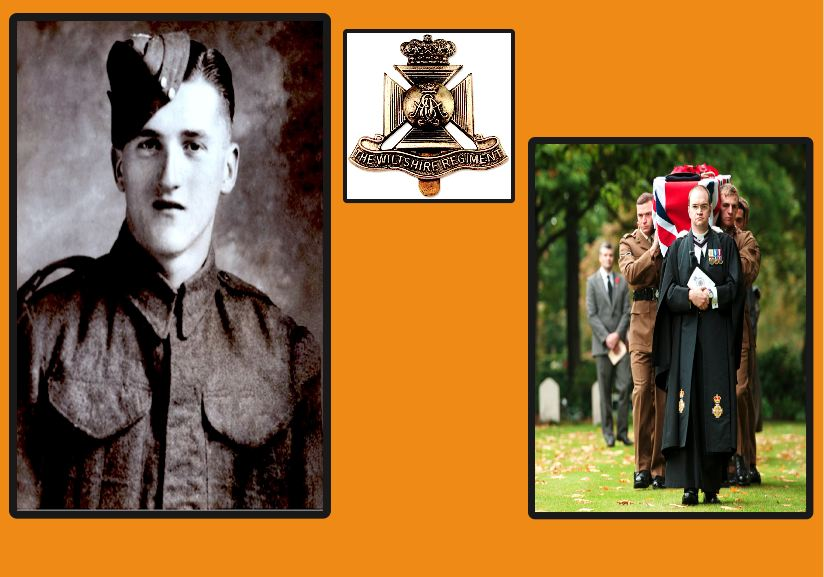 Mystery of young WWII soldier's remains finally solved.Private Lewis Curtis of 5th Battalion The Wiltshire Regiment