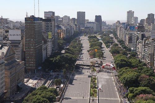 9 Plus Route Large Du La Argentine Buenos Aires La Monde Julio De