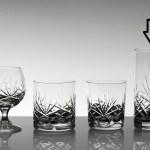 Set pahare sonda din cristal Bohemia - Mystique