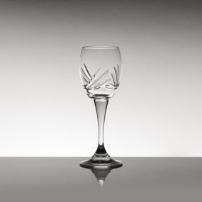 Set pahare vin din cristal Bohemia - Ambrozie