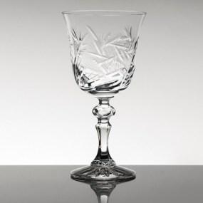 Set pahare vin rosu din cristal Bohemia - Imperial