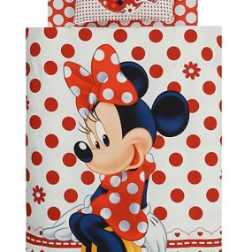 Lenjerie de pat copii TAC Disney - Minnie Mouse