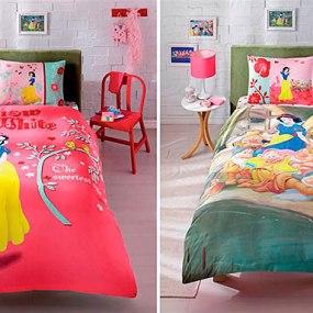 Lenjerie de pat copii TAC Disney - ALBA CA ZAPADA
