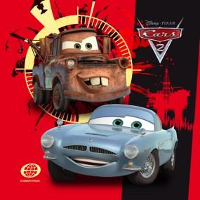 Perna decor Disney pentru copii CARS