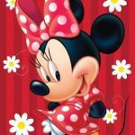 Prosoape pentru copii Disney MINNIE MOUSE ROSU