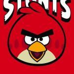 Prosoape pentru copii din bumbac ANGRY BIRDS-RED BIRD