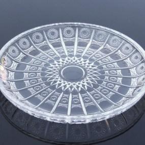 Platou tort cristal Bohemia - THEA