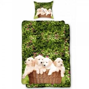 Lenjerie de pat copii DOGS D0012