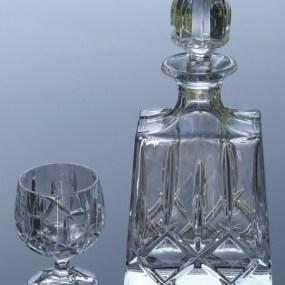 Set sticla si pahare cristal Sheffield