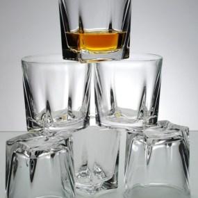 Pahare whisky cristal Bohemia Kathreen