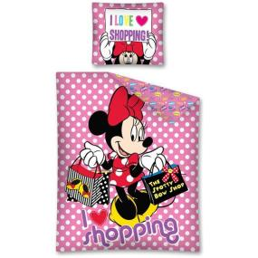 LENJERII DE PAT CU MINNIE MOUSE SHOPPING