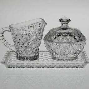 Set cafea cristal Bohemia MADISON