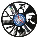Ceasuri din discuri de vinil – BARBERSHOP