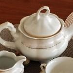 ceainic din portelan Bolero Jasmine