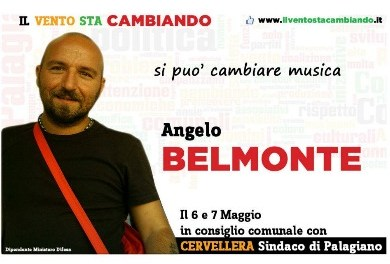 """Angelo Belmonte su FB: """"La gente e' stanca ed indignata"""""""