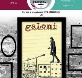"""A Palagiano il cantautore """"GaLoni"""" in TroppoBassiPerIPodi_tour"""