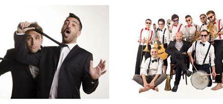 """I Nitrophoska, la band di Angelo Belmonte a """"Non ci resta che ridere"""""""