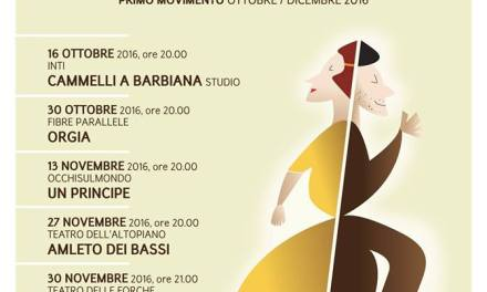 Massafra. Sette titoli di teatro contemporaneo e danza in programmazione sino a Dicembre.
