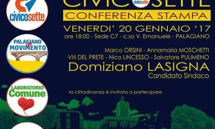 CIVICOSETTE presenta il suo candidato Domiziano Lasigna