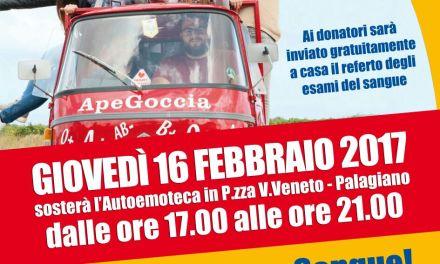 """Dona Sangue"". A Palagiano giovedi' 16 febbraio."