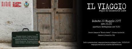 """A Massafra Spettacolo teatrale  """"il Viaggio"""" Regia di Giancarlo Luce"""