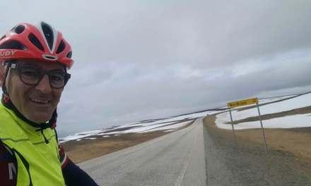 E' palagianese il primo pugliese ad aver viaggiato in solitaria a bordo di una bici da Taranto a Capo Nord.