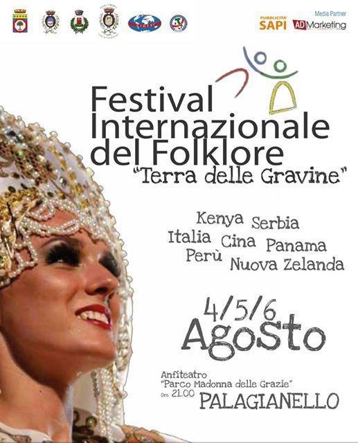 """Festival Internazionale del Folklore """"Terra delle Gravine"""""""