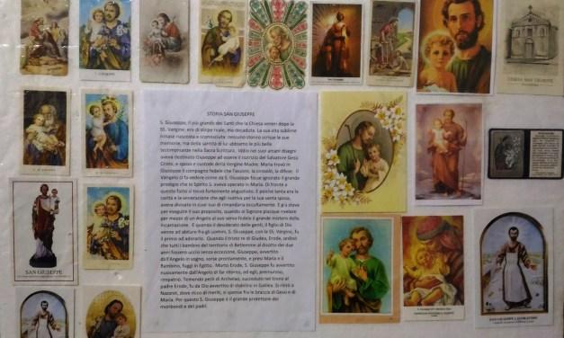 MOTTOLA (TA). Da oggi una mostra su Santini e Devozione popolareAl via le iniziative per la festività di San Giuseppe