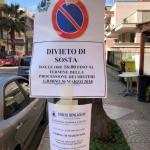 """Affissi i divieti di sosta per il nostro """"Venerdi' Santo"""""""