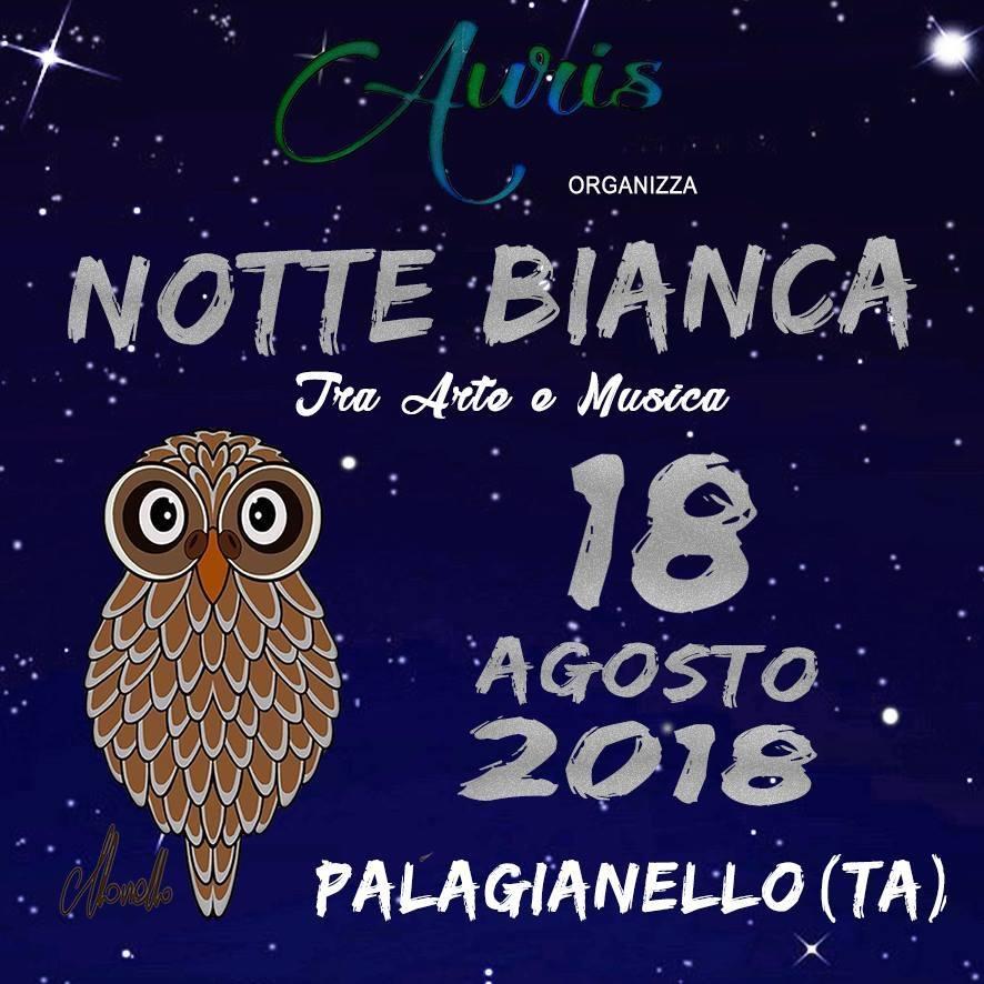 """Palagianello si prepara alla sua prima """"Notte Bianca"""""""