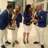 PALAGIANO (TA). Antonella Vignola e Marco Putignano sul podio del Campionato Mondiale di Acconciatura, a Parigi. Domani, l'Amministrazione Comunale li premia. Ore 17,30,presso la sala Dinamismi