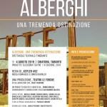 A Chiatona: 'ALBERGHI. Una tremenda ostinazione'