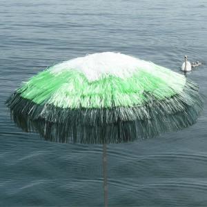 ombrellone in rafia 3 colori