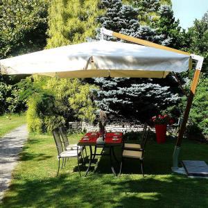 Ombrellone laterale giardino Fibrasol