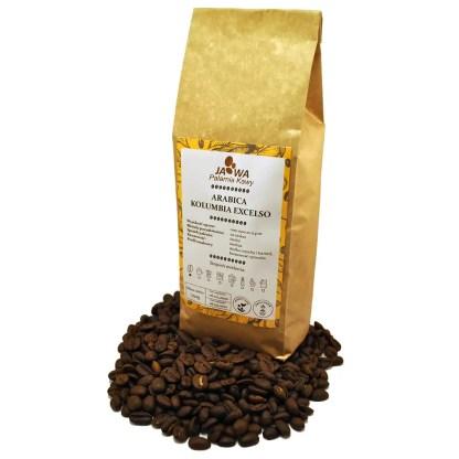 kawa ziarnista, kawa Kolumbia Excelso, kawa z ameryki południowej, palarnia kawy kraków, świeżo palona kawa