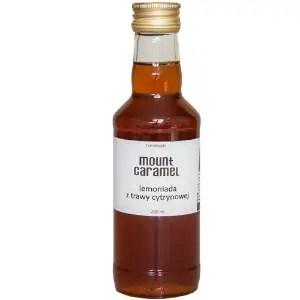 syrop lemoniada z trawy cytrynowej, syrop do kawy, Mount Caramel
