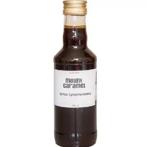 syrop cynamonowy, syrop do kawy, Mount Caramel