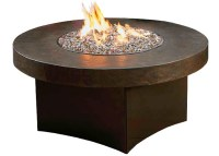 Savana Stone round top fire pit table now at our Ottawa store